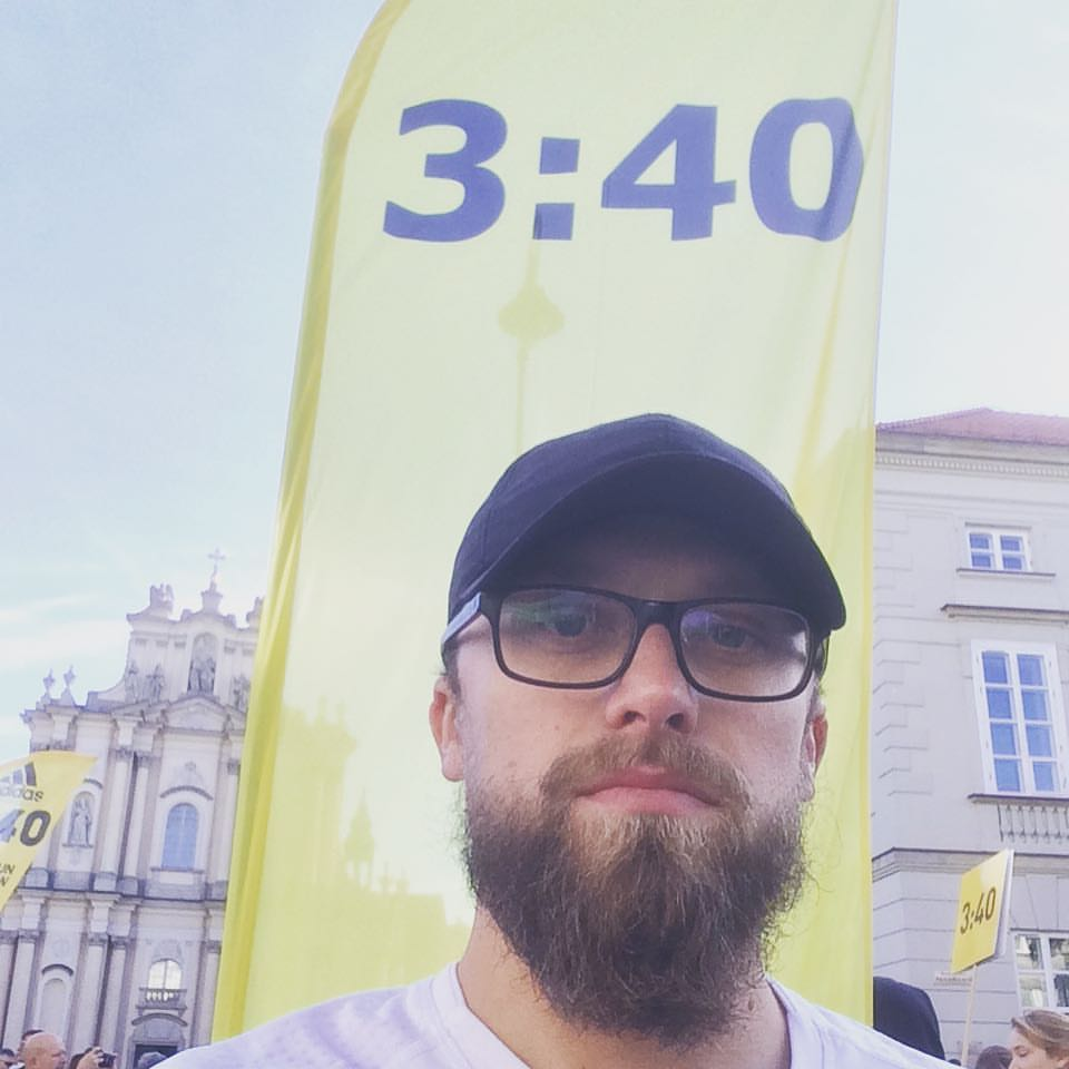 Start - 38. PZU Maraton Warszawski