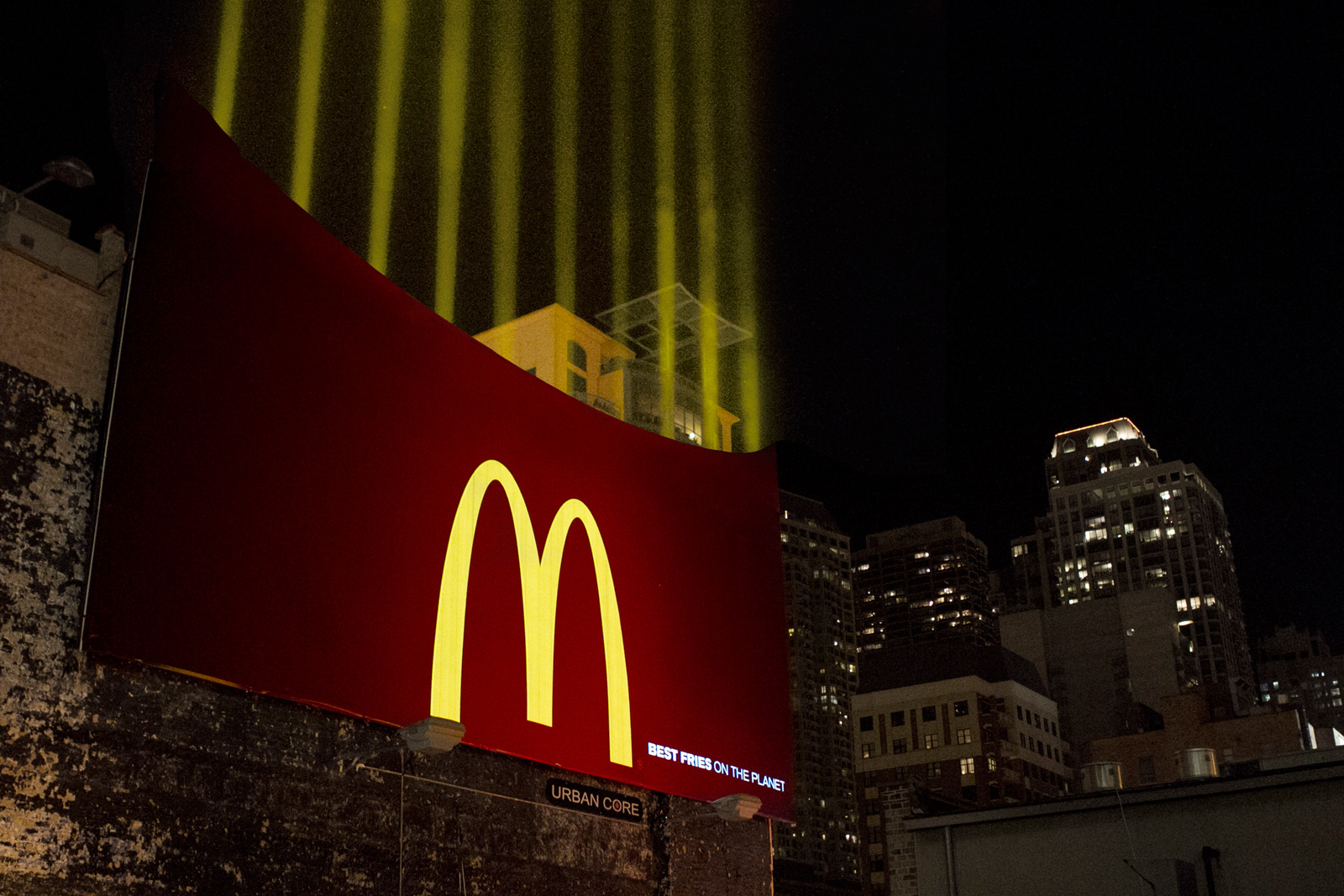 McDonalds Fry Light