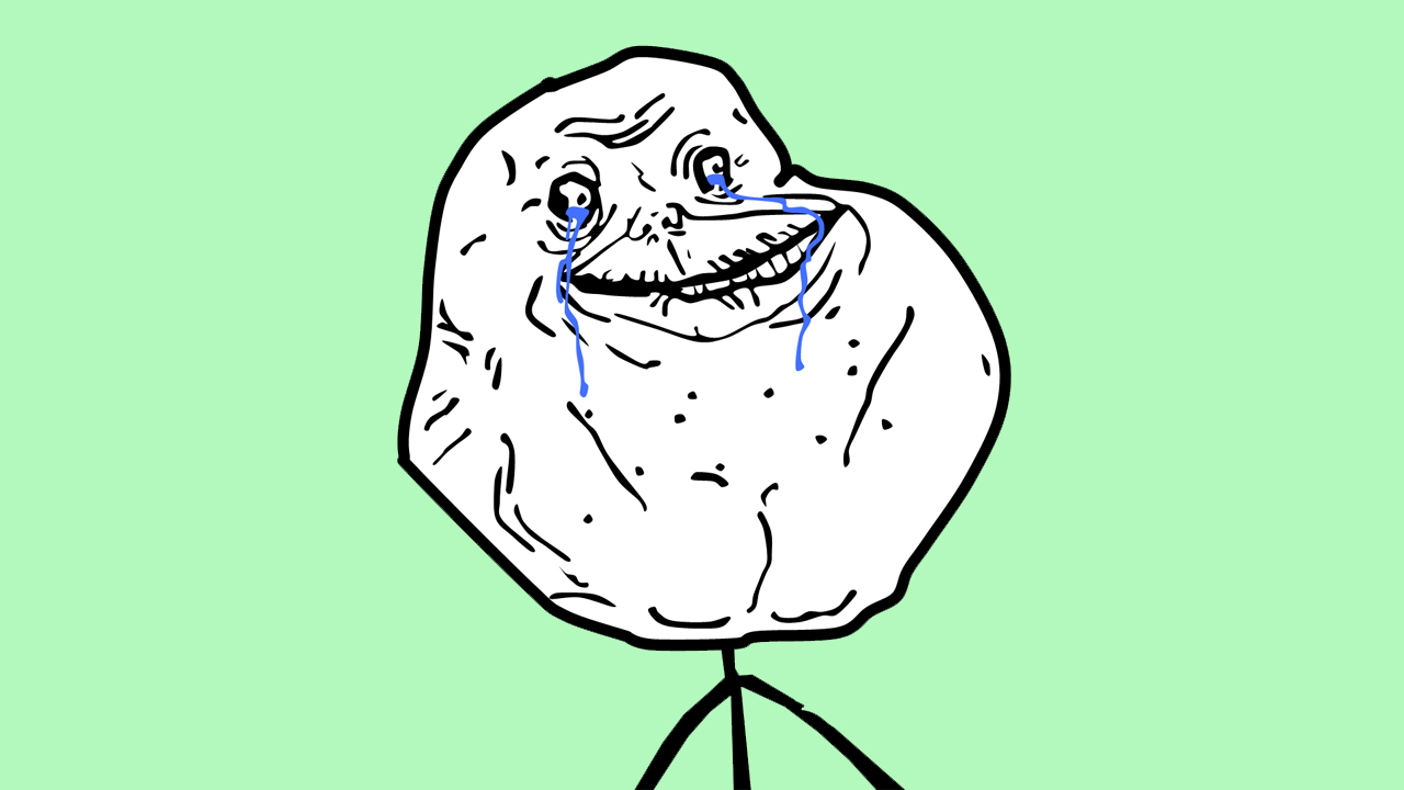 Rage Faces - Forever Alone Guy