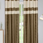 Kuber Industries Embossed Print 2 Pieces Silk Patio Sliding Door Curtain Wide Blackout Curtains Keep Warm Draperies Sliding Glass Door Drapes 7 Fe