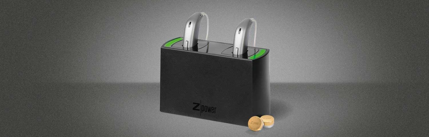 Z Power Rechargeable Hearing Aid Battery