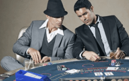 Players in a casino
