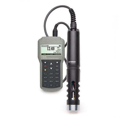 Hanna HI 98195 Multiparameter pH Temperature