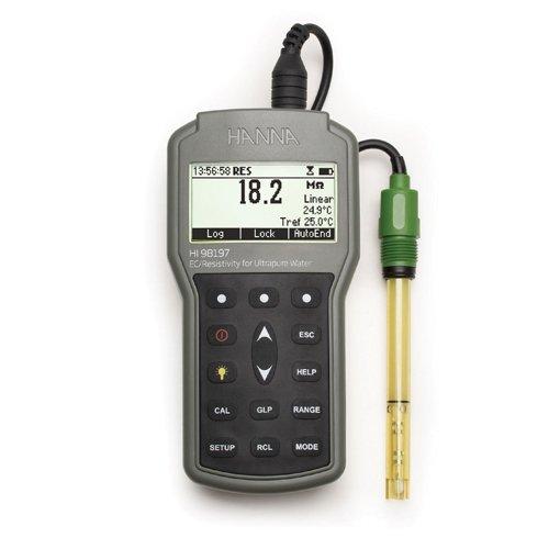 Hanna HI 98197 waterproof conductivity