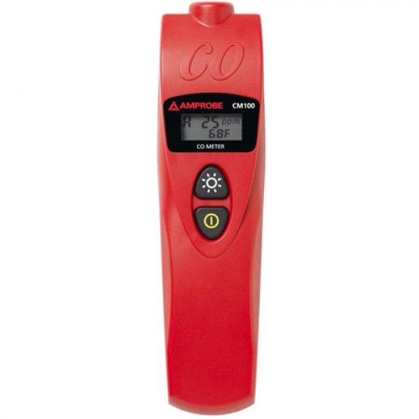 Amprobe CM100 Carbon Monoxide Meter With Adjustable CO Levels