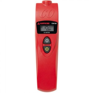 Amprobe CM100 Carbon Monoxide Meter With Adjustable CO Levels