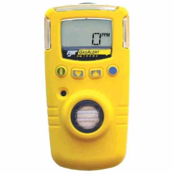 BW Technologies GasAlert Extreme [GAXT-D-DL] Single Gas Detector, Nitrogen Dioxide (NO2), 0 To 100ppm