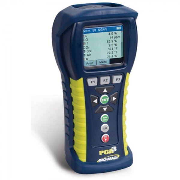 Bacharach PCA3 235 [0024-8448] Portable Combustion Analyzer With O2, CO Low-Range, NO And Reporting Kit