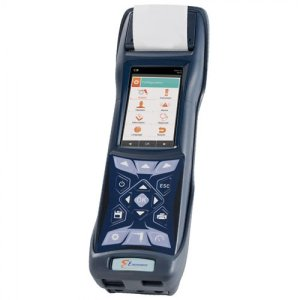 E Instruments BTU4500 [BTU4500-S] Commercial & Industrial HVAC Combustion Analyzer With Built-In Printer, O2, CO, NO/NOx, SO2