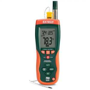 Extech HD500 Psychrometer With InfraRed Thermometer