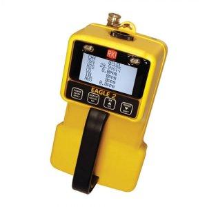 RKI Instruments Eagle 2 [726-008-03] Six Gas Monitor LEL, O2, H2S, CO, NH3 & CO2 5% Vol IR