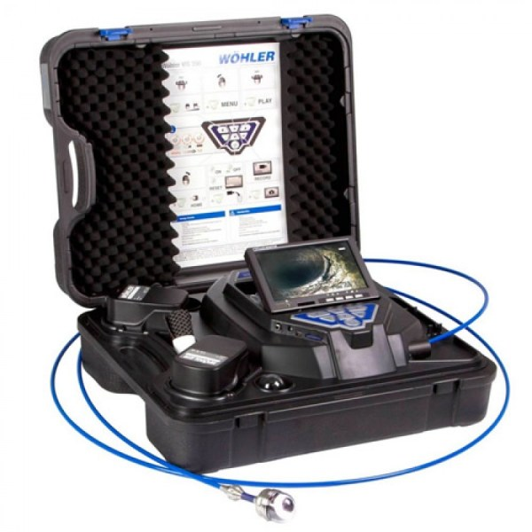 Wohler VIS 350 [7354] Service Camera With Digital Counter, Pan And Tilt Head