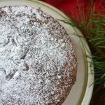 Ludwik i Franceska…Świąteczne ciasto migdałowe ze skórką cytrusową