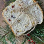 Bożonarodzeniowy chleb z orzechami.Słodki czy wytrawny?