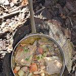 Jagnięcina, brukiew i fasola. Ostatnia zimowa zupa!