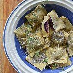 Ravioli z karmelizowaną marchewką i ricottą. Pasta e Vino!