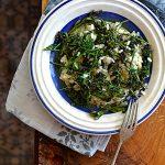 Risotto na sposób francuski z brokułami gałązkowymi. Witaj sierpniu!