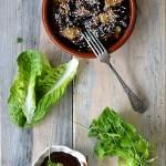 Bakłażany karmelizowane w sosie miso. Sezonowo od A do M