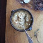Pasternak, fenkuł i ricotta. Zupa z piekarnika. Sezonowo od A do M
