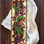 Tarta z karmelizowaną botwiną. Warzywo z przyszłością
