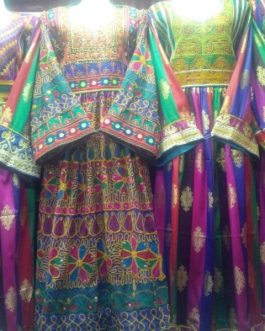 Kuchi Tribal Ladies Banarsi Dress