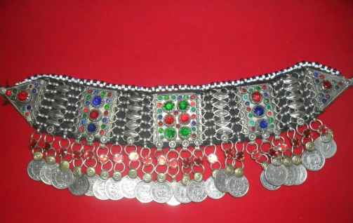 Coins Kuchi Tribal Necklace