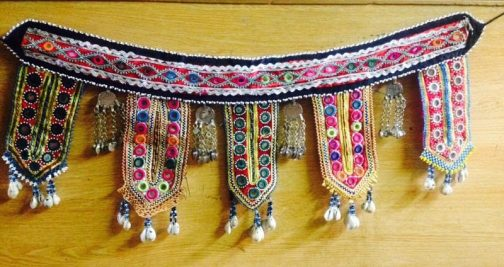 Belly-dance Belt with fancy parts