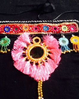 Single Flower Turkmani Head Piece