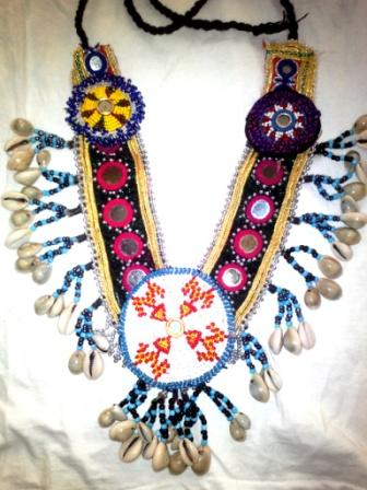 Shell & Medallions Afghani Necklace
