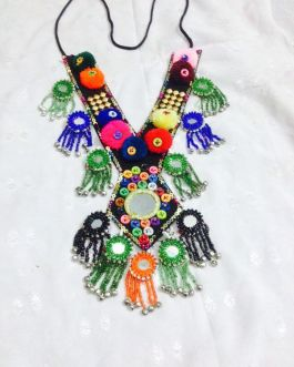Mirror Sindhi Tribe Necklace