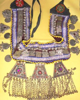 Three Pendant Tribal Belt