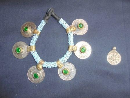 Coins & Pearl Made Bracelet