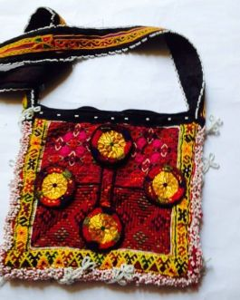 Zari Work Embroidery Bag