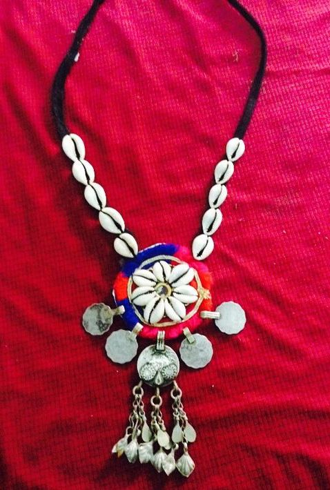 Medallions & Shell Made Necklace