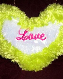 Filled Heart LOVE Cushion