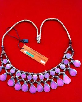 Pink Stone Stylish Necklace