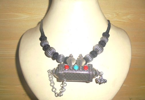 Tavez Necklace With Adjustable Cord-IN
