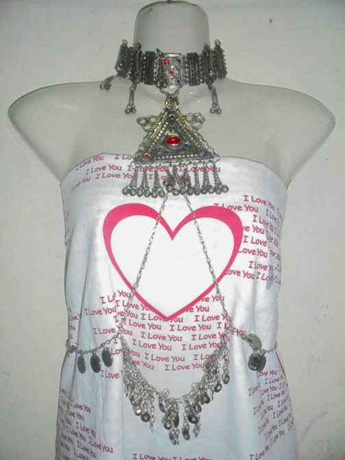 Tribal Body Chain With Adjustable Chain Design-01