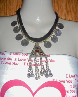 Vintage Coins & Pendant Necklace
