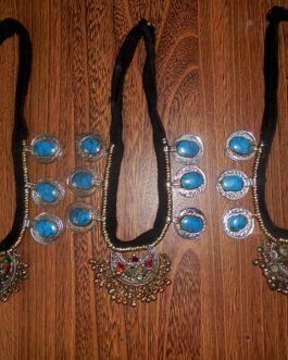Turquoise Necklace With Tribal Pendant