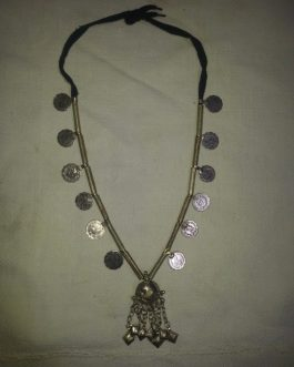 Turkman Tribal Long Necklace