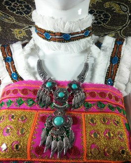 Turkish Chokar With Turquoise Stone-2