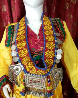 Big Necklace/Belt With Pendant & Coins