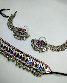 Gypsy Smart Choker & Sahara Ear Ring