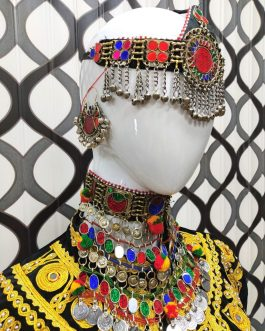 Tribal Fusion Gypsy Choker/Necklace Set