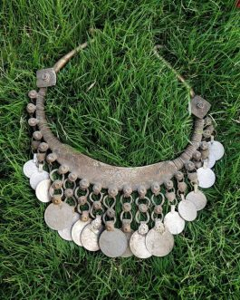 Old Coins Big Vintage Old Choker