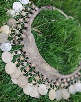 Old Coins Big Antique Vintage Choker