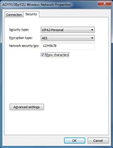 Wifi network password view