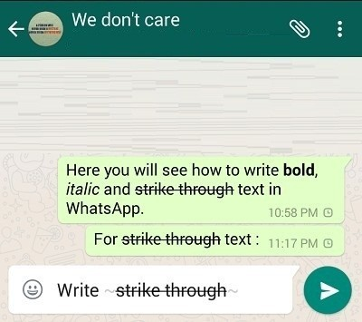 write-strickethough-text-in-whatsapp