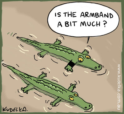 kudelka crocodile hunter cartoon